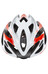 Rudy Project Rush Helm white/red fluo shiny